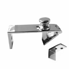 Counter Flap Catch 219 Polished Chrome