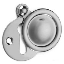 Croft Covered Escutcheon 2032 Polished Chrome