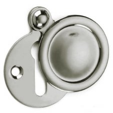 Croft Covered Escutcheon 2032 Polished Nickel