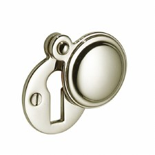 Victorian 615 Covered Escutcheon Polished Nickel