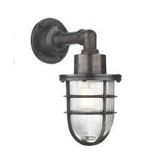 David Hunt CRE1537 Crewe Outdoor Wall Light Oxidised IP44