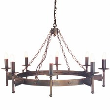 Elstead Cromwell 8 Light Chandelier