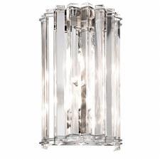 Kichler Crystal Skye Wall Light Polished Chrome