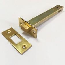 Tubular Deadbolt 151mm Polished Brass