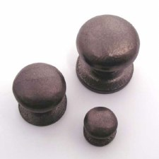 Cupboard Door Knob Solid Rustic Bronze