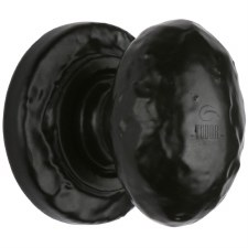 Heritage Tudor Cupboard Knob TC534 32mm Black Ironwork