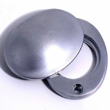 Aston Cylinder Cover Satin Chrome