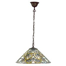 Interiors 1900 Dauphine Tiffany Ceiling Pendant Light
