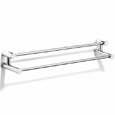 Samuel Heath N5301 Double Towel Rail Polished Chrome