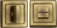 Heritage DEC7030 Bathroom Thumb Turn & Release Antique Brass Lacq