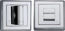 Heritage DEC7030 Bathroom Thumb Turn & Release Polished Chrome