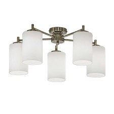 Decimal Ceiling Down Light 5 Lights Bronze