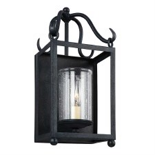 Feiss Declaration Wall Light Antique Forged Iron