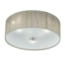Desire Flush Ceiling 3 Light Cream
