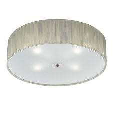 Desire Flush Ceiling 4 Light Cream