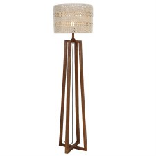 Devyn Floor Lamp Cream