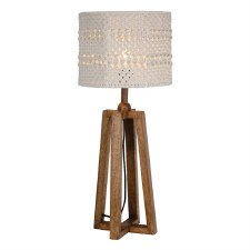 Devyn Table Lamp Cream