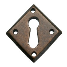 From The Anvil Diamond Escutcheon Bronzed