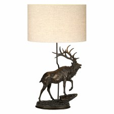 Elstead Angus Table Lamp with Shade