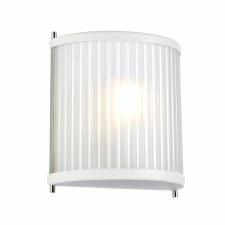 Elstead Corona Flush Wall Light White