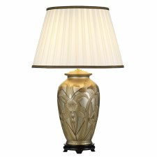 Elstead Dian Oriental Table Lamp with Shade