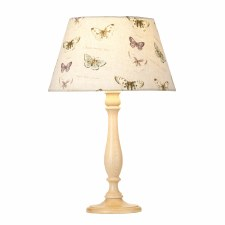 Elstead Painswick Table Lamp Medium Limed with Shade