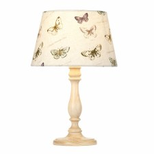 Elstead Painswick Table Lamp Small Limed with Shade