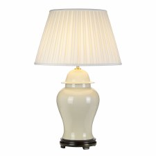Elstead Tongling Table Lamp with Shade