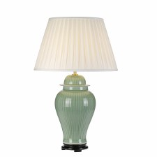 Elstead Yantai Table Lamp with Shade