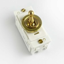 Replacement Dolly Switch Polished Brass