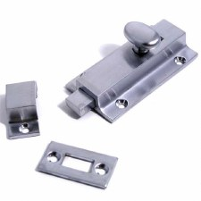Door Bolt Satin Chrome