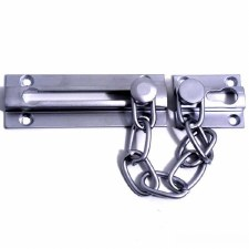 Samuel Heath Door Security Chain Satin Chrome