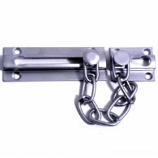 Samuel Heath Door Security Chain Satin Chrome