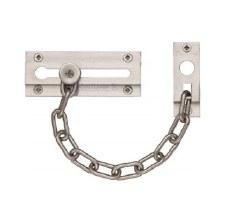 Heritage Door Chain V1070 Satin Nickel