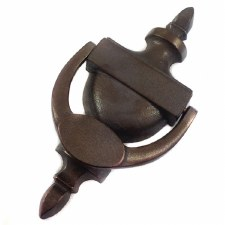 Aston Adam Door Knocker Rustic Solid Bronze