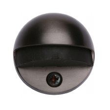 Heritage Oval Floor Mounted Door Stop V1080 Matt Bronze