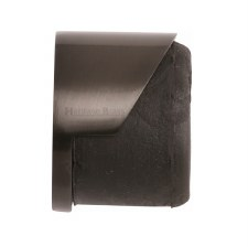 Heritage Round Floor Mounted Door Stop V1088 Matt Bronze