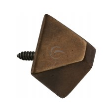 Heritage Door Studs RBL791 19mm Solid Rustic Bronze