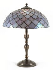 Tall Bulbous Table Lamp