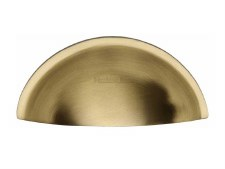 Heritage Drawer Pull C2760 Satin Brass