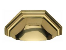 Heritage Drawer Pull C2768 Polished Brass