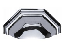 Heritage Drawer Pull C2768 Polished Chrome