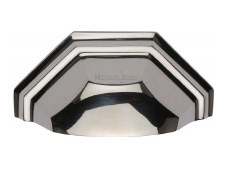 Heritage Drawer Pull C2768 Polished Nickel