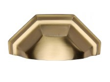 Heritage Drawer Pull C2768 Satin Brass