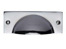 Heritage Drawer Pull C2762 Polished Chrome