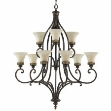 Feiss Drawing Room 9 Light Chandelier