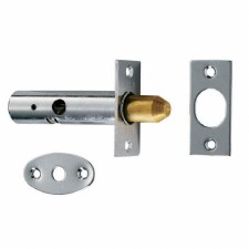Door Security Bolt Satin Chrome