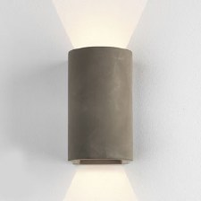 Dunbar Outdoor Down & Up Wall Light 160 Concrete