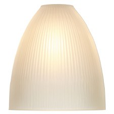 Duxford Reeded Satin Glass Shade