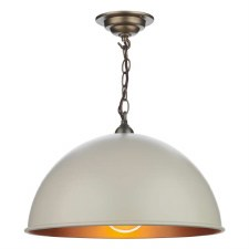 David Hunt EAL8612 Ealing Pendant Cotswold Cream 42cm